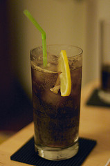 Photo of a long island iced tea cocktail by Alisdair McDiarmid. Some rights reserved.